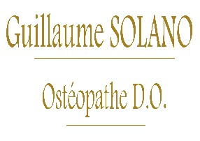 SOLANO Guillaume OSTEOPATHE D.O. GENVAL